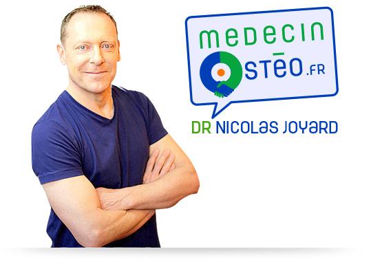 Prendre RDV avec votre ostéopathe Nicolas Jyard